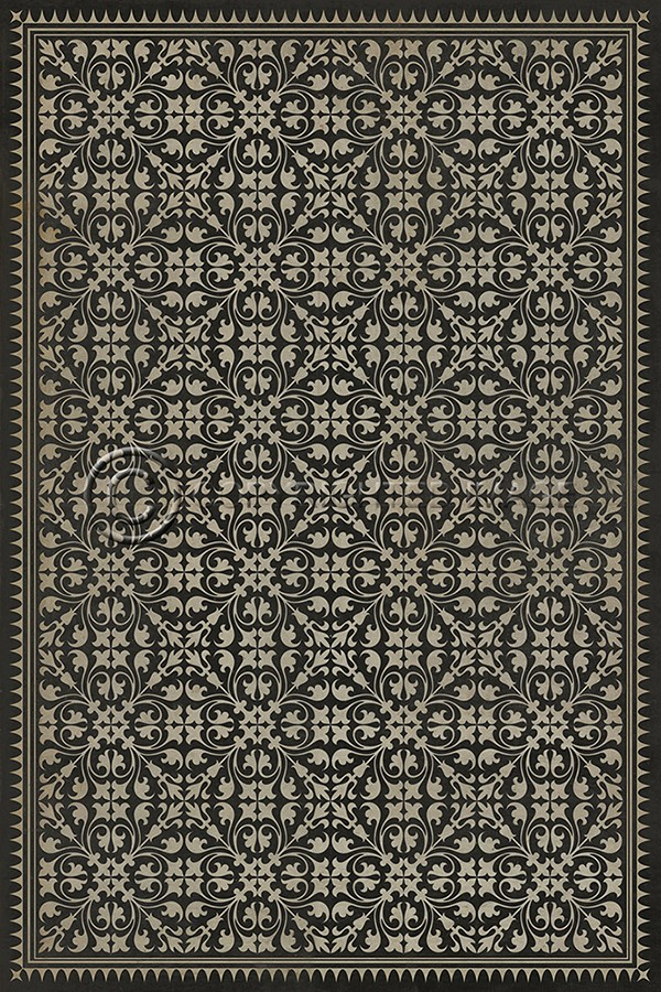 spicher and company vintage vinyl floor cloths by hook or