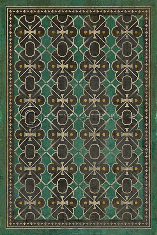 Spicher And Company Vintage Vinyl Floor Cloths Jeeves Rugs