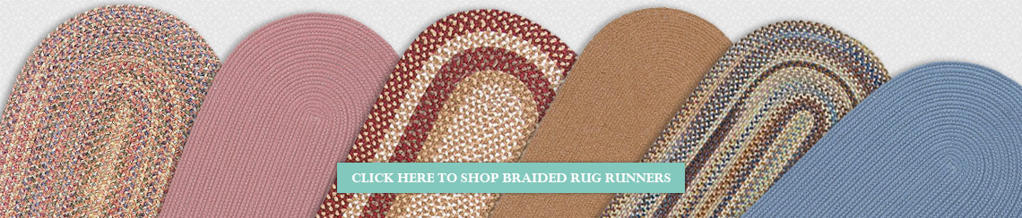 Braided Rug Runners from Rugs Direct