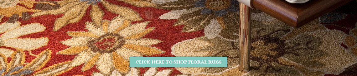 Floral Rugs from Rugs Direct