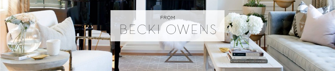 Decorating Trends from Becki Ownes