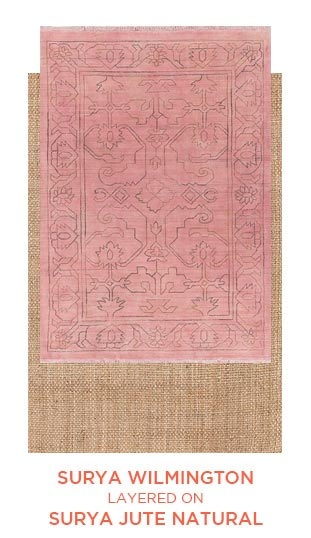 Surya Wilmington and Surya Jute Natural