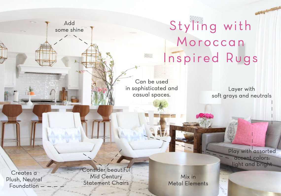 Styling with Moroccan-Inspired Rugs