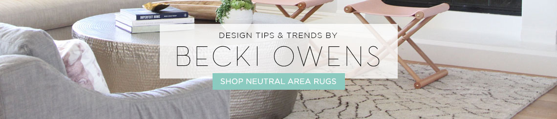New Neutral Area Rugs