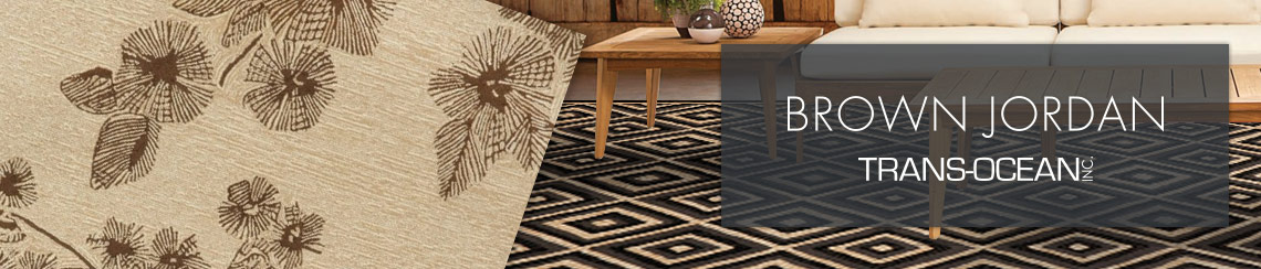 Trans-Ocean area rugs design by Brown Jordan