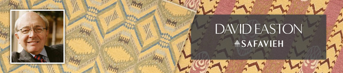 Safavieh area rugs designed by David Easton