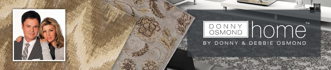 Area Rugs Designed by Donny & Debbie Osmond