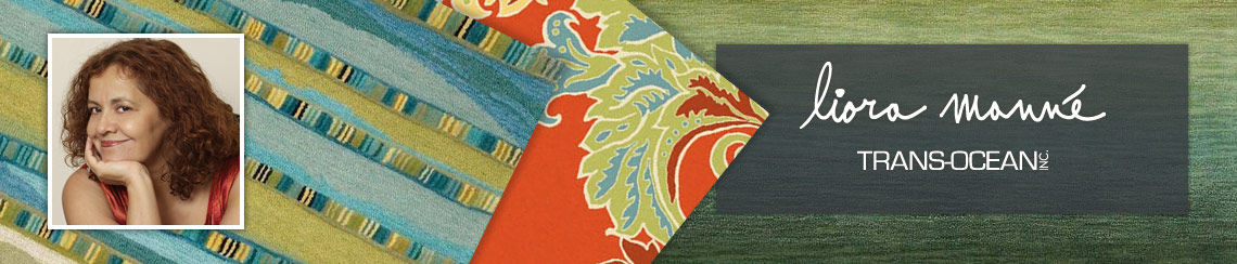 Trans-Ocean area rugs designed by Liora Manne