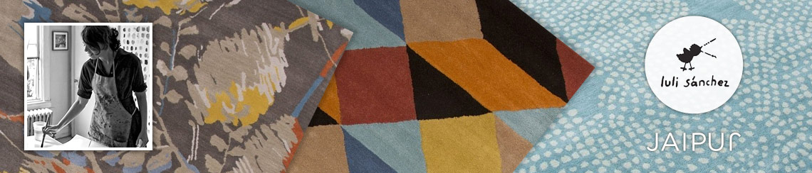 Jaipur area rugs designed by Luli Sanchez
