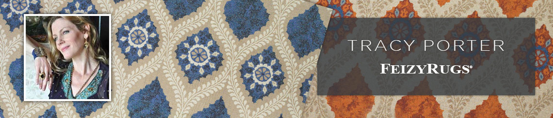 Area rugs designed by Tracy Porter