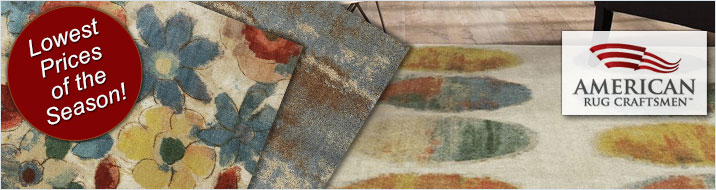 Lowest Price of the Season on American Rug Craftsmen Rugs - Save 20%