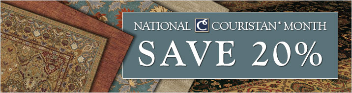 National Couristan Month - Save 20%
