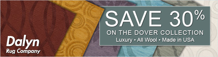 Save 30% on the Dalyn Dover Collection