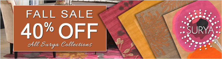 Surya Fall Sale - 40% Off All Surya Collections