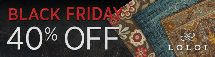 Black Friday Sale - Loloi Rugs - Save 40%