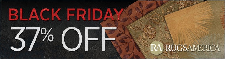 Black Friday Sale - Rugs America - save 37%