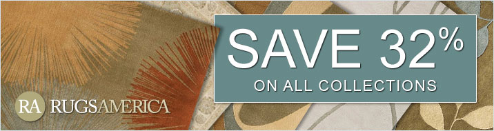 Rugs America - save 32% on all collections