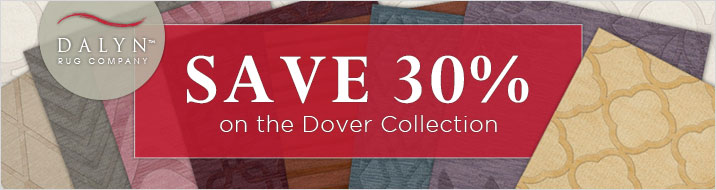 Dalyn - save 30% on the Dover Collection.
