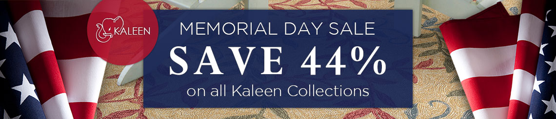 Kaleen - Memorial Day Sale - Save 44%