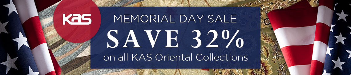 KAS Oriental Memorial Day Sale - Save 32%