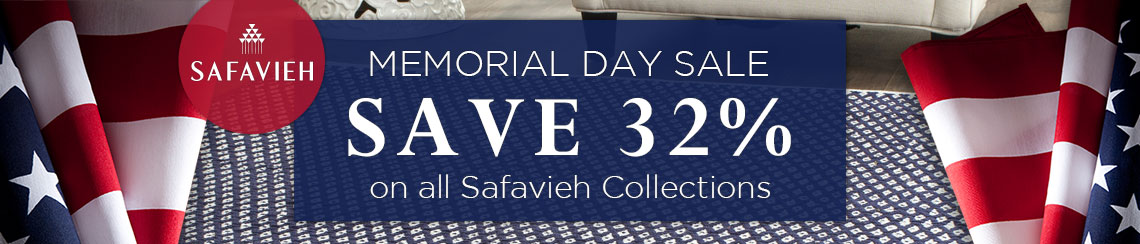 Safavieh - Memorial Day Sale - Save 32%