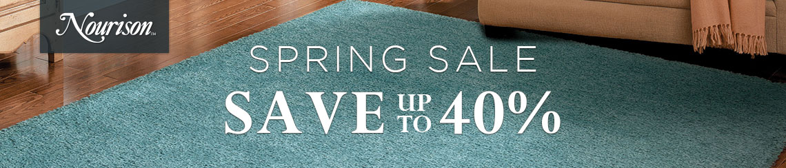 Nourison Spring Sale - Save up to 40%