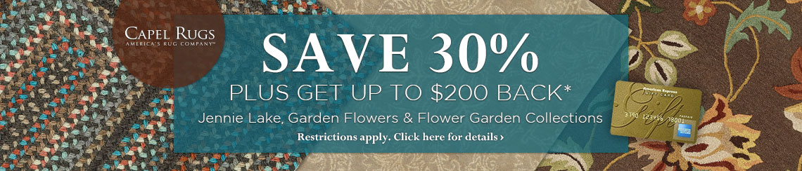 Capel - Save 30% plus get up to $200 back on selected collections.