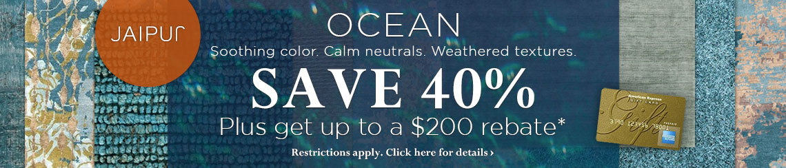 Jaipur Rugs Ocean Trend - Save 40% plus get up to a $200 rebate.