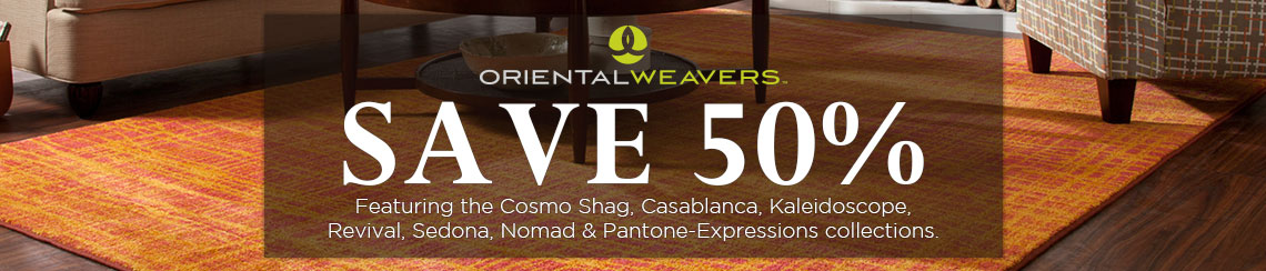 Oriental Weavers - Save 50% on all collections.