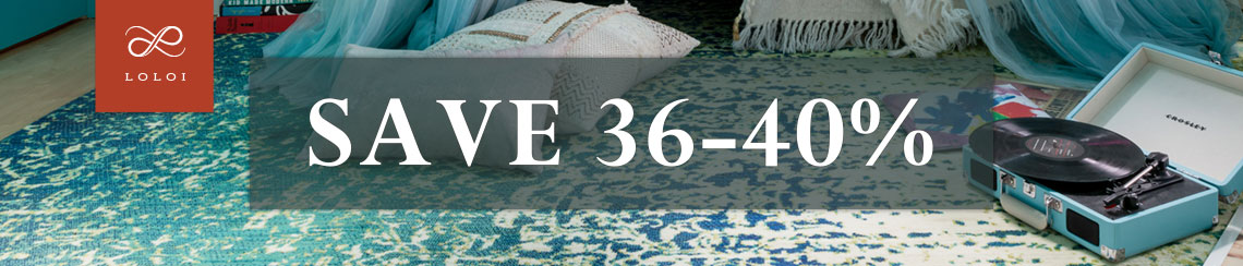 Loloi Rugs - Save 36-40%.