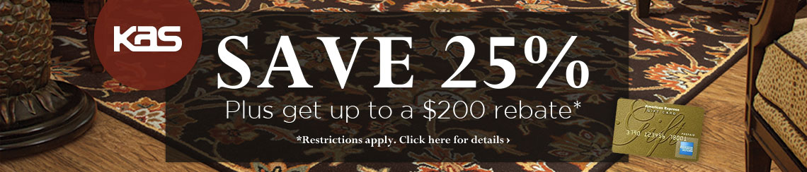 KAS Oriental - Save 25% plus get up to $200 back.