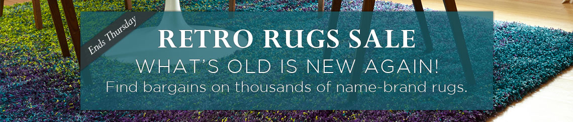 Retro Rugs Sale