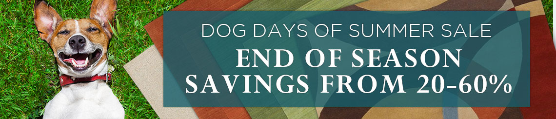 Dog Days of Summer Sale - Save 20-60%.
