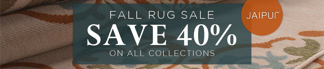 Jaipur Rugs Fall Rug Sale - Save 40% on all collections.