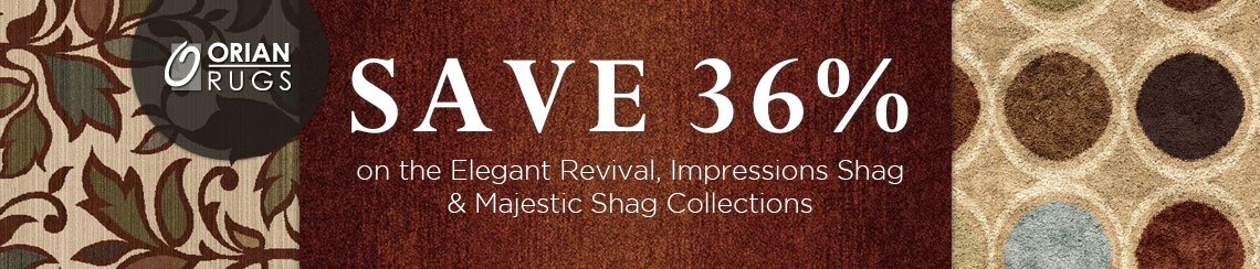 Orian Rugs - Save 36% on selected collections.