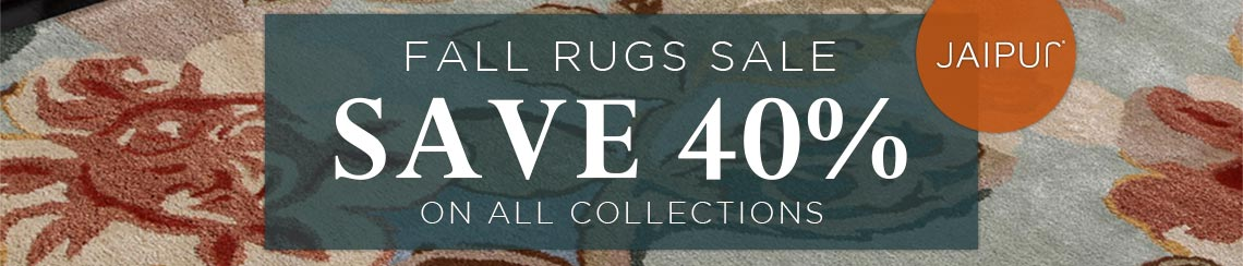 Jaipur Fall Rugs Sale - Save 40% on all collections.