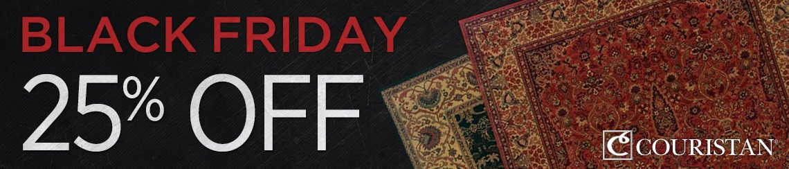 Couristan - Save 25% on all collections.