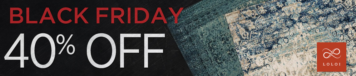 Loloi Rugs - Save 40% on all collections.
