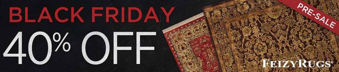 Feizy Rugs - Save 40% on all collections.