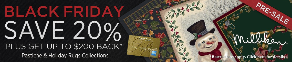Milliken - Save 20% plus get up to $200 back on selected collections.