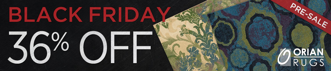 OrianRugs - Save 36% on all collections.