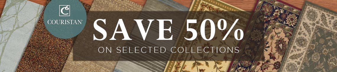 Couristan - Save 50% on selected collections.