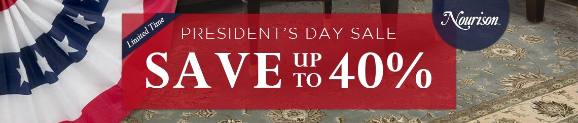 Nourison President's Day Sale - Save up to 40%
