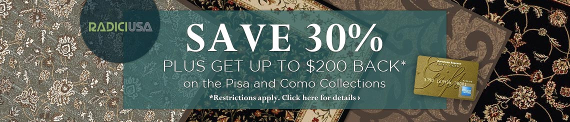 Radici USA - Save 30% plus get up to $200 back on selected collections.