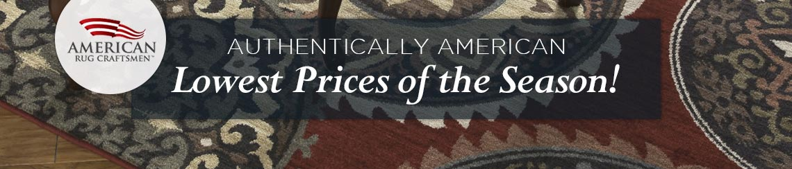 American Rugs Craftsmen - Lowest Prices of the Season