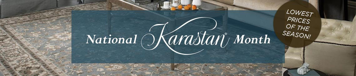 National Karastan Month - Lowest Prices of the Season