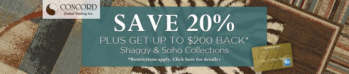 Concord Global - Save 20% plus get up to $200 back.