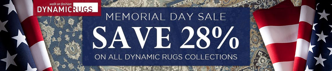 Dynamic Rugs Memorial Day Sale