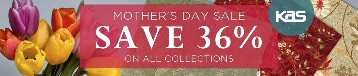 KAS Mother's Day Sale - Save 36% on all collections.