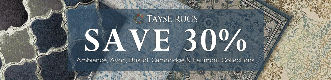 Tayse Rugs - Save 30% on selected collections.